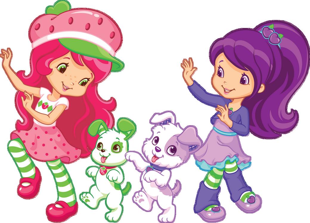 Charlotte aux fraises et ses amis strawberry shortcake - Charlotte aux fraises et ses copines ...