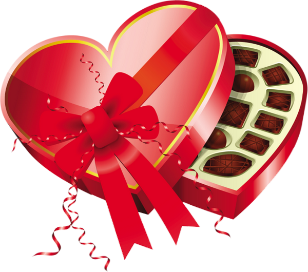 Chocolat st valentin boite en coeur png chocolate - Coeur st valentin ...