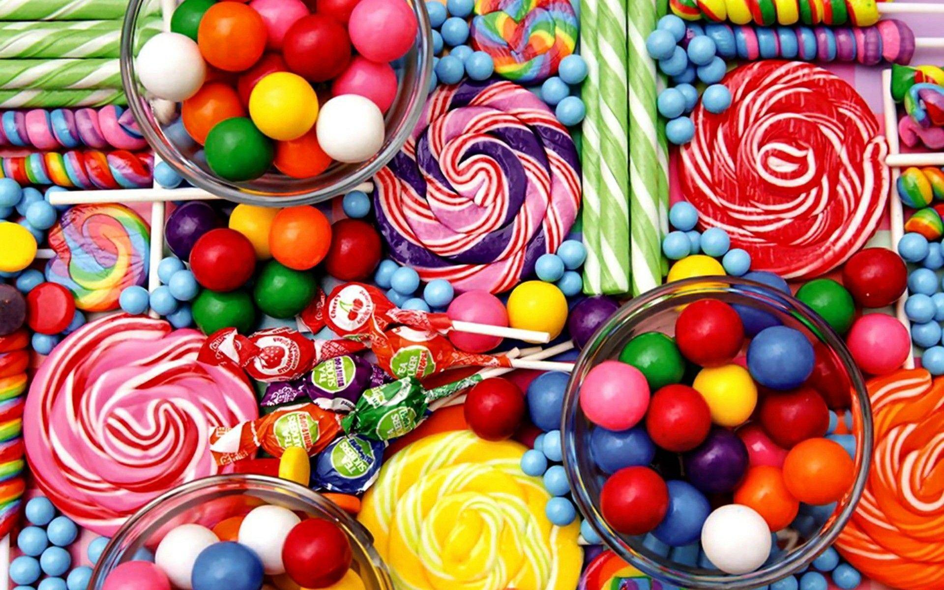 Fonds ecran bonbons page 2 for Ecran image