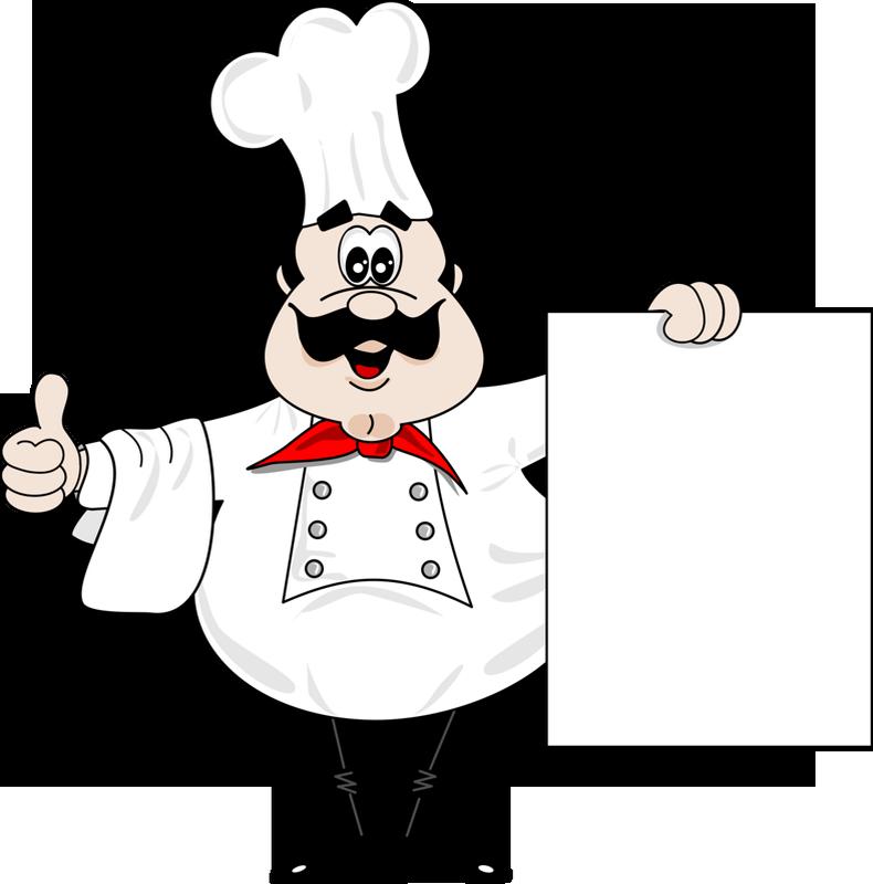 Cuisiniers avec pancarte page 2 for Cuisinier humoristique