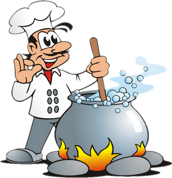 Soupe - Cuisinier dessin ...