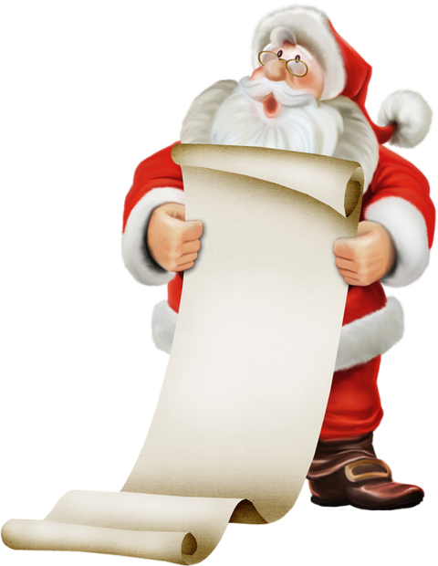 Petit Papa Noël Dessin Png Tube Weihnachtsmann