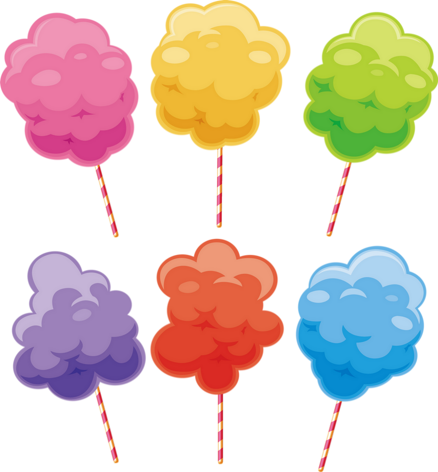 Barbe A Papa Dessin Png Tube Cotton Candy Clipart