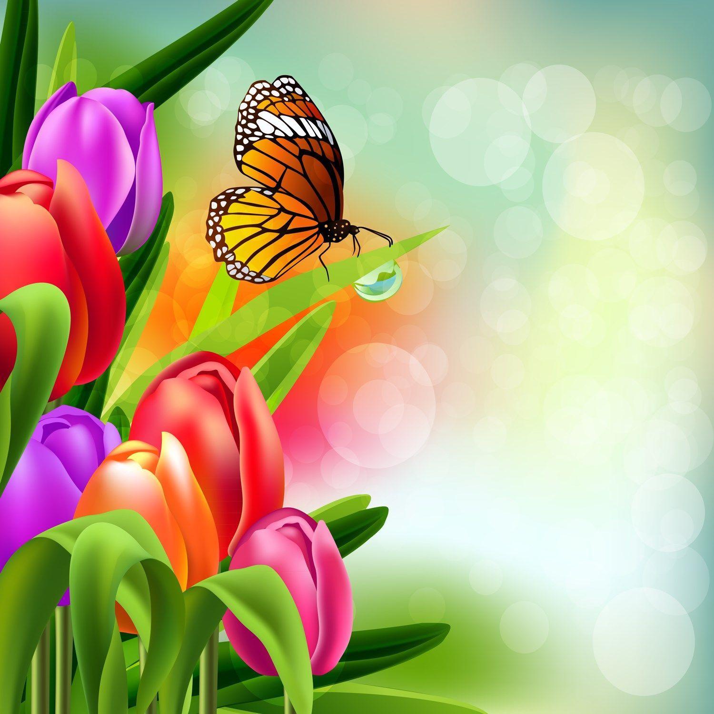 p ques printemps fond pour cr as spring background. Black Bedroom Furniture Sets. Home Design Ideas