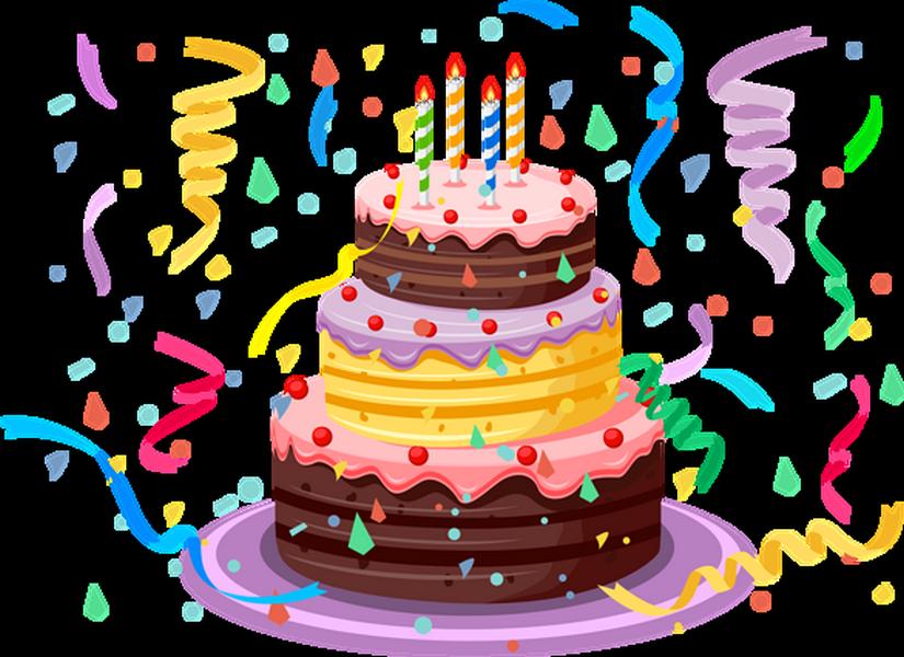 Clipart Anniversaire gâteau d'anniversaire - clipart