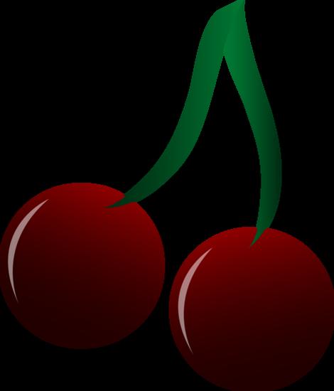 Cerises rouges dessin - Dessin de cerise ...