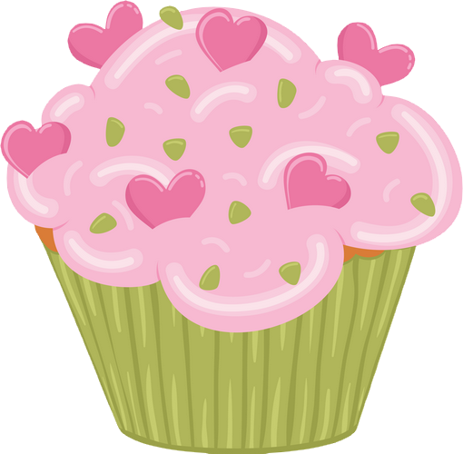 Cup Cake Dessin Couleur