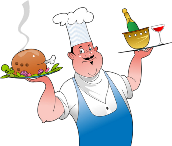 Cuisinier en service for Cuisinier png