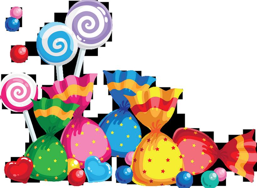 Dessin Bonbons Colorés