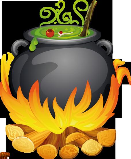 Chaudron de sorci re png witch 39 s cauldron caldero - Dessin marmite ...
