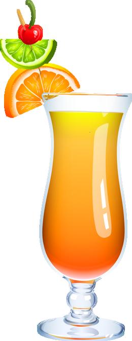 Cocktail aux agrumes dessin - Dessin cocktail ...