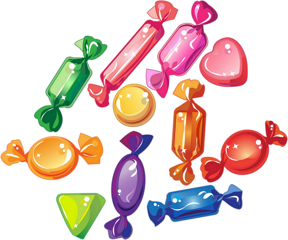 Bonbons Dessin Png Tube Confiserie Sweet Candy Png