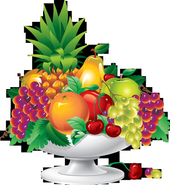 Fruits corbeilles coupes varies - Dessins fruits ...