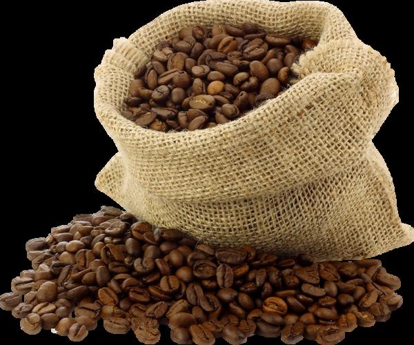 Sac de grains de caf png tube coffee beans png kopi - Sac de cafe en grain ...