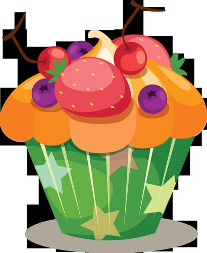 Dessin couleur cupcake - Dessin cupcake ...