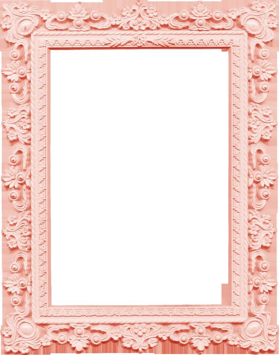 scrap cadre baroque rose png marco pink frame png. Black Bedroom Furniture Sets. Home Design Ideas