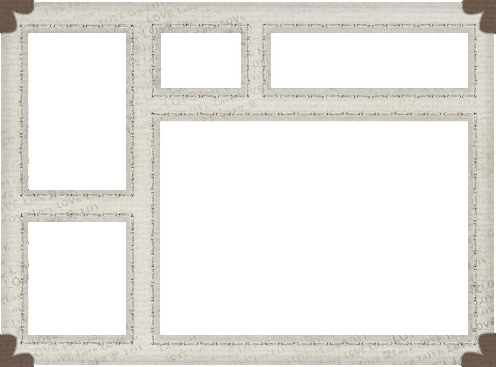 scrap cadre multiple marco png rahmen frame png. Black Bedroom Furniture Sets. Home Design Ideas