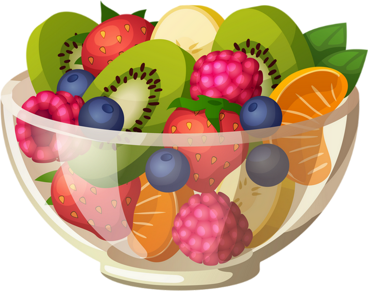 Fruit Dessin salade de fruits : dessin